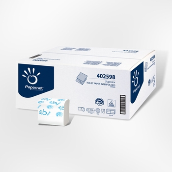 Toiletpapier Bulk Puur Cellulose.Wit 2laags 8960 st.