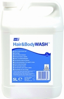 Deb Hair & body Wash 4 x 5L
