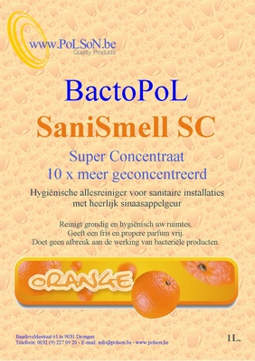 "Bactopol allesreiniger ""superconcentraat"" Orange 1L"