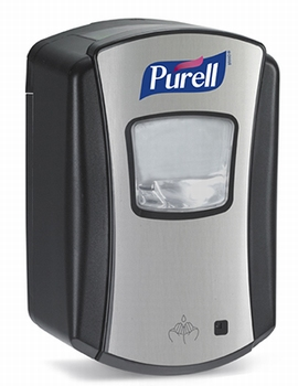 LTX Purell Dispenser 700ml Chrome/Black 4 st.