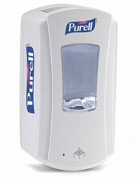 LTX Purell Dispenser 1200ml - White/White 4 st.