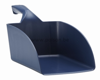 Handschep:breed - 360 x 95 x 160 mm Donker blauw
