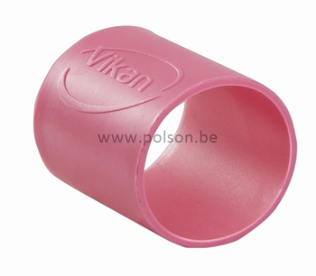 Rubber ring: per set van 5 ringen Ø 26 mm Roze