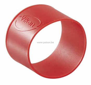 Rubber ring: per set van 5 ringen Ø 40 mm Rood