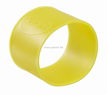 Rubber ring: per set van 5 ringen Ø 40 mm Geel
