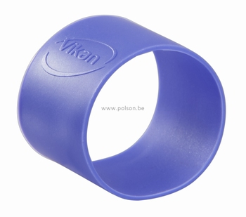Rubber ring: per set van 5 ringen Ø 40 mm Paars