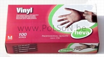 HANDSCHOEN VINYL / 100 MEDIUM (1x10 dispencers)