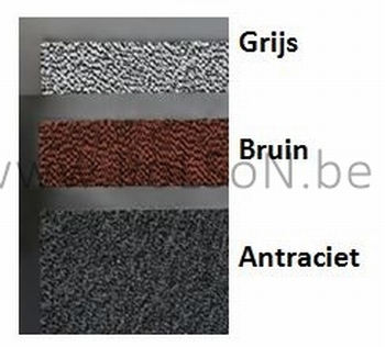 ANTIVUILMAT HIGH DENSITY bruin 120 x 240 cm