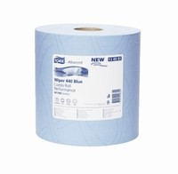 Tork Advanced Wiper 440 Combi Roll Blue Performance