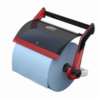 Tork Wall Stand Wiper / Cloth Roll / Combi Roll Red / Smoke