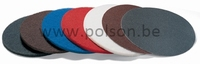 """Pad DISCUS 9"""" - 228mm - ROOD"""