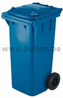 Mini container 140L - BLAUW
