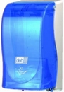 Deb. Blauw transparant 1,2 liter TouchFREE dispenser