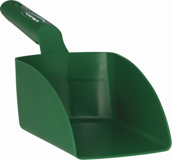 Handschep polipropyleen medium - 330 x 75 x 120 mm groen