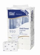 Tork Premium Hand Towel Interfold Soft (Carry Pack)