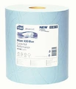Tork Advanced Wiper 430 Combi Roll Blue Performance