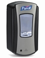LTX Purell Dispenser 1200ml - Chrome/Black 4 st.