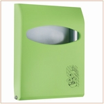 Toiletbrilovertrekdispenser Mini 200vel Groen 1st