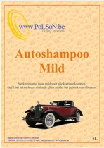 Car Wash & Wax. Milde autoshampoo 5L