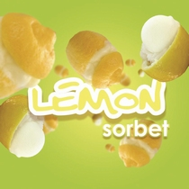 Mini Lemon Sorbet minivulling 100ml/65gr. 3000shots /12 st