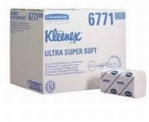 KLEENEX® ULTRA SUPER SOFT Handd. - Intergev. / Mediu